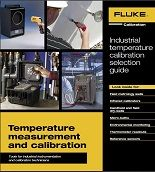 Fluke industrial temperature catalog